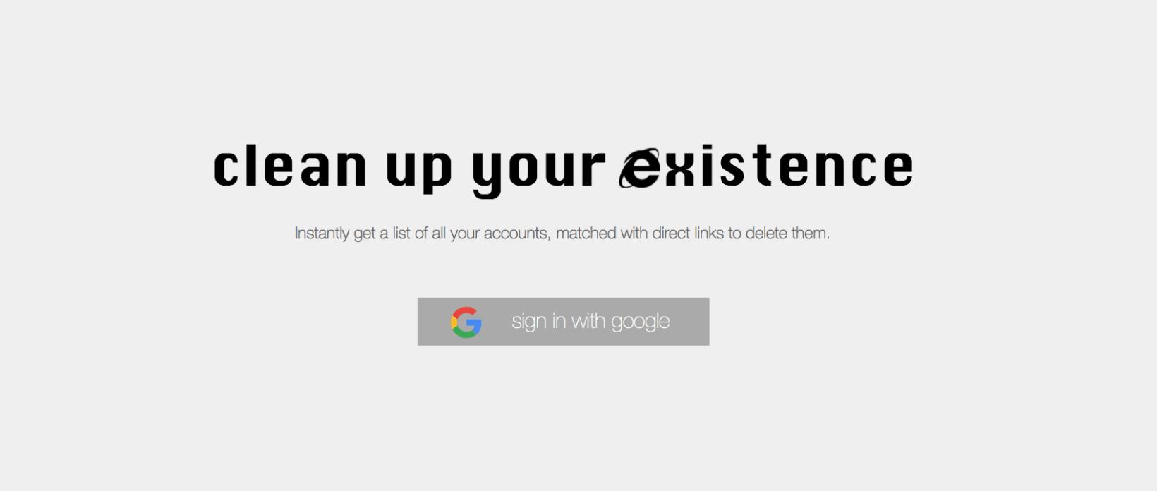 حذف از اینترنت تنها با یک کلیک