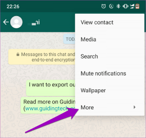 روش انتقال چت ها از واتساپ به تلگرام